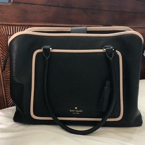 Kate Spade leather work bag / laptop holder
